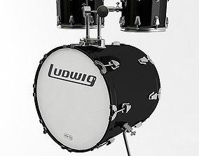 3D model Bass Drum
