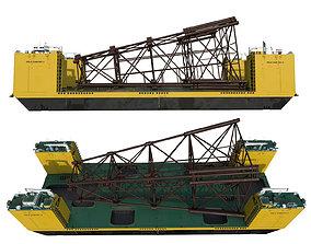 Heavy Lift Carriers barge FELS CAN DO II 3D model