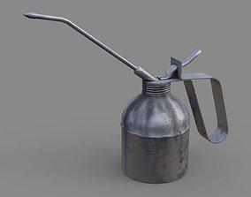 Oil Can 2B 3D asset