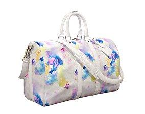 Louis Vuitton Bag Keepall Bandouliere 45 3D asset 1