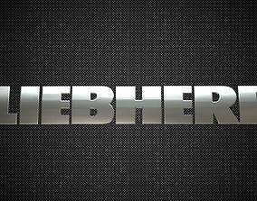 liebherr logo 3D model
