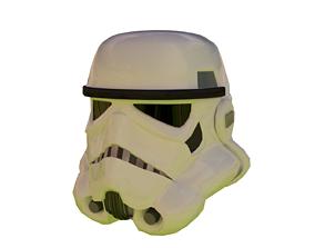 3D model Helmet stormtrooper