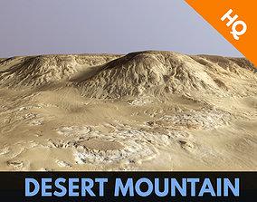 Desert Mountain Africa Dunes Landscape PBR Low 3D asset 2