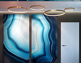 Wall Panel Set 58 3D