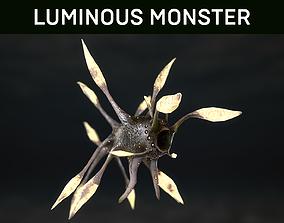 3D asset Luminous Monster