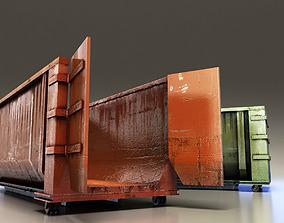 3D model Large Dumpster
