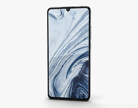Xiaomi Mi Note 10 Midnight Black 3D model