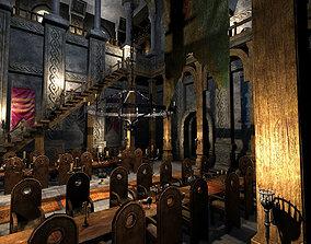 Medieval Castle Interior 3D model