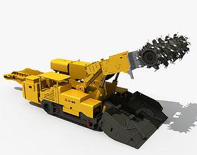 3D Roadheader