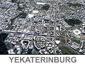 3D model Yekaterinburg City