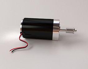 Electric Motor electronics 3D