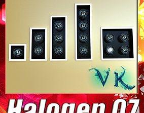 3D Halogen Lamp 07 Photoreal