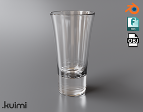 3D asset Free PBR Vodka Glass