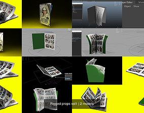 3D Rigged props vol1