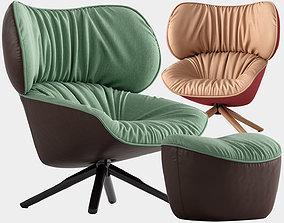 Tabano armchair 3D model