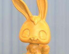 hare rabbit 3D printable model