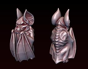Gothic Bat Statue 3D printable model