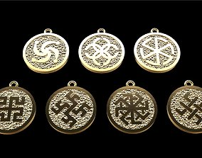3D print model Pendant magic amulet