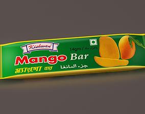 Food Packaging enargy bar 3D model