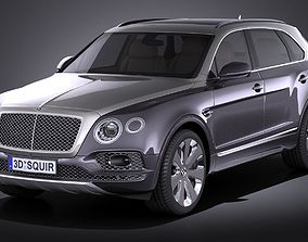 Bentley Bentayga Mulliner 2018 3D