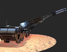 MIM-104 Patriot 3D model low-poly