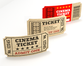 Cinema Tickets 3D