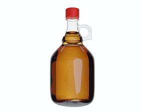 Vintage Cider Bottle 3D printable model