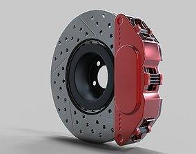 Disk Brake 3D