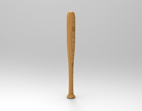 Baseball Bat 3D print model