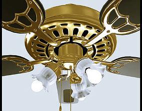 3D model Decorative Ceiling Fan