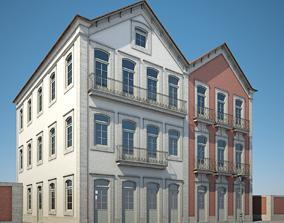 Apartment Building 16 3D