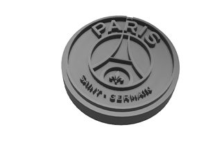 3D print model PSG key ring