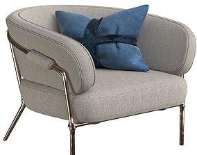 3D living armchair