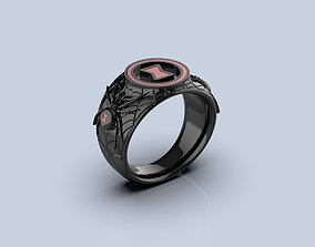 Black Widow Ring 3D print model