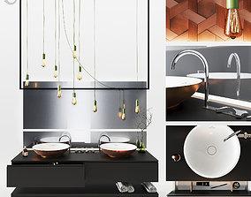 3D Bathroom set mixer