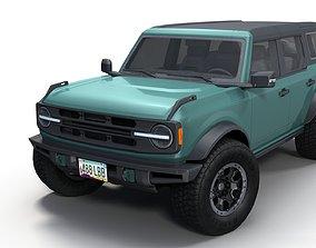 3D model Bronco 2021