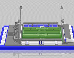 3D print model Chester FC - Deva Stadium