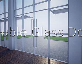 Double Glass Door SHC Quick Office LM 3D asset