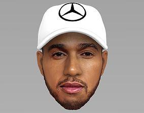 Lewis Hamilton 3D model
