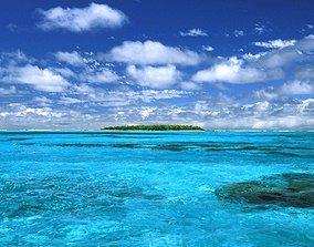 sea backgorund 3D