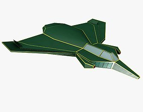 3D asset green space mosquito