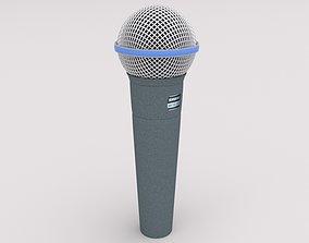 Shure Beta 58a 3D model