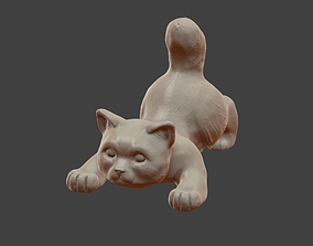 Little cat 3D printable model