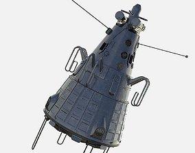 sputnik 3 3D model
