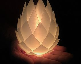 3D printable model Pine Cone Tealight Candle