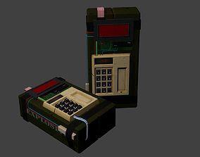 C4 explosive bomb 3D model