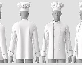 Chef Jacket 3D model