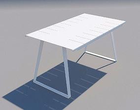 3D model Copenhagen dining table Cane-line design by 2