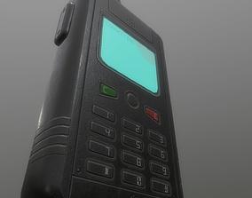 3D asset Satellite Phone