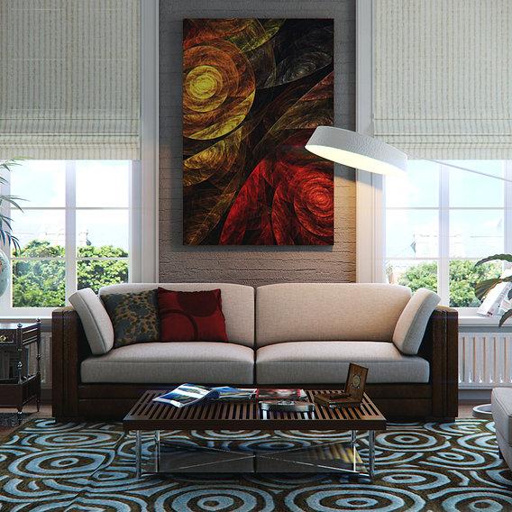 Living Room New York Style